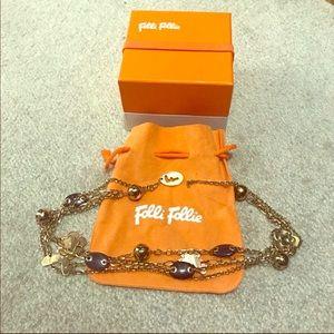 Folli Follie necklace rosegold